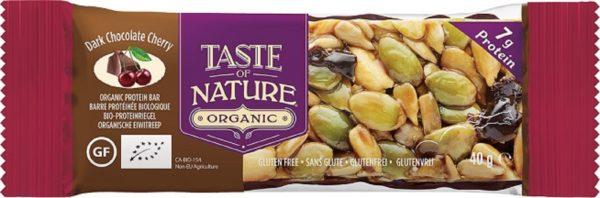 Biologische Taste of Nature Kers chocolade reep