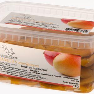 gewelde gedroogde mango