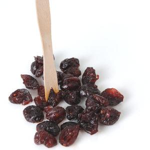 Biologische gewelde gedroogde HELE cranberries