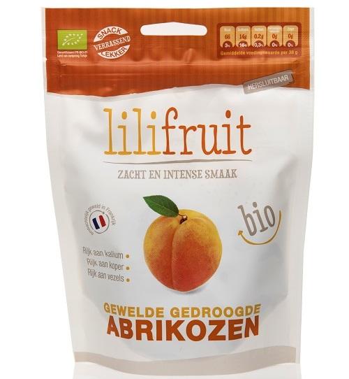 Biologische gewelde gedroogde ongezwavelde abrikozen